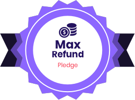 Maximum Refund Guarantee badge