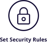 security rules icon